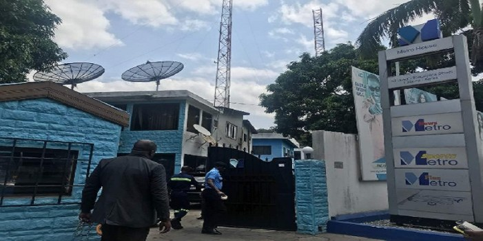 Metro TV shutdown over GHC2.3 million debt to the State