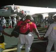 Black Stars arrive in Reykjavik for Iceland friendly