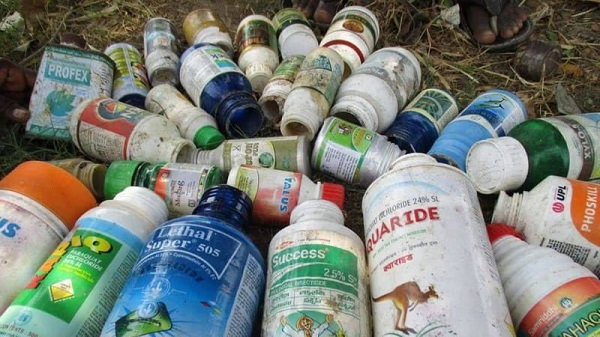 Stop using empty agro-chemical containers as drinking bottles – Farmers told