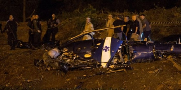 Russian helicopter crashes, deaths feared
