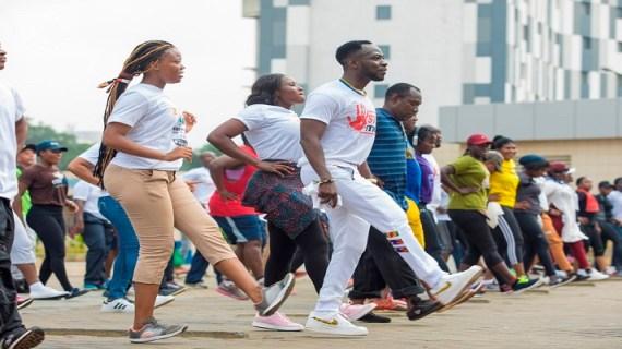 "Okyeame Kwame Makes Giant History as thousands Flood His Hepatitis B Health Walk and ""Free Screening"""