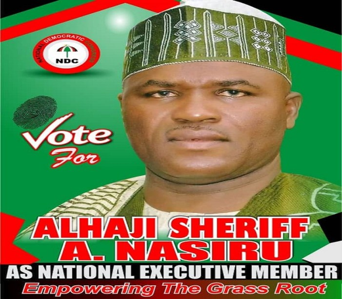 Alhaji Sheriff Abdul Nasiru Files To Contest For National Executive Committee Member (NEC MEMBER) Position