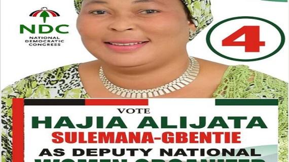 Hajia Alijata Gets Massive Endorsement from Delegates