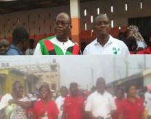 La Dadekotopon Unity Walk Unites NDC Flag Bearer Aspirants