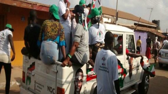Ashaiman NDC Unity Walk Hits The Rock