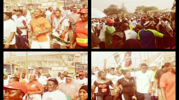 """Madina Goes Gay For """"NDC walk into Victory"""" Campaign"""