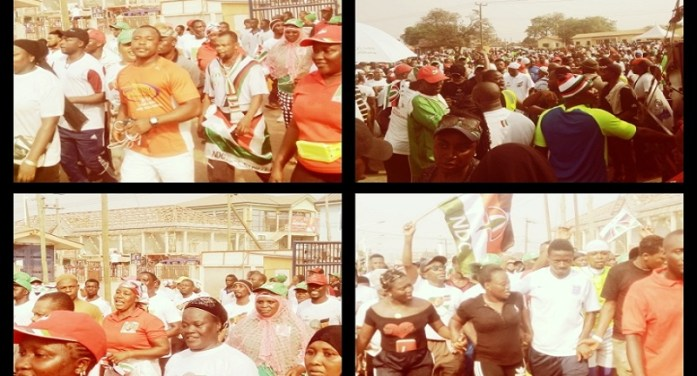"Madina Goes Gay For ""NDC walk into Victory"" Campaign"