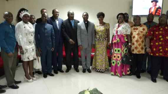 NDC Leadership Meets With Presbyterian Church Moderator