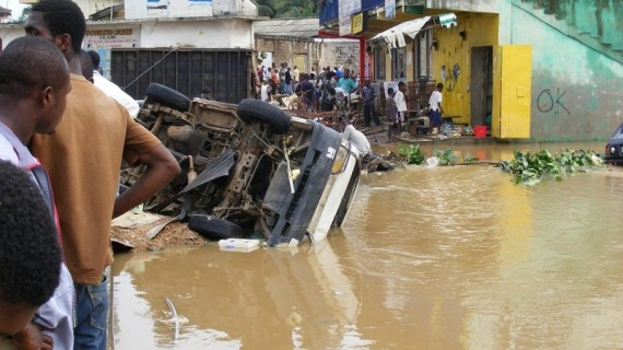 Is Dormaa Nkyenkyenkye developing into a natural disaster prone area?