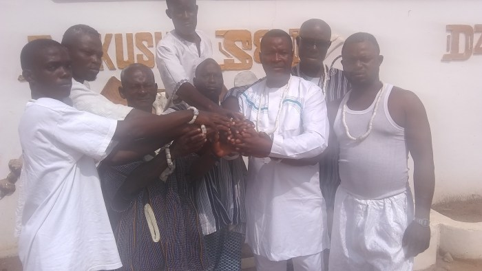 Oblieman – Opah Chief of Abola Piam Install Commanders