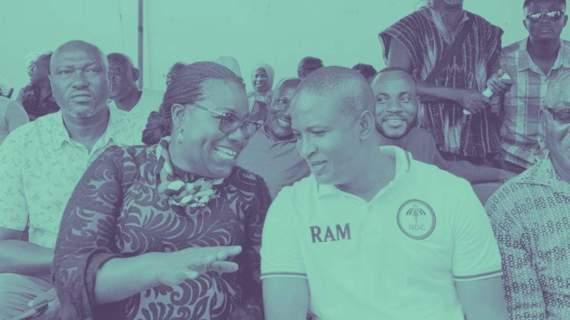 Oye Lithur Congratulates Adamu Ramadan
