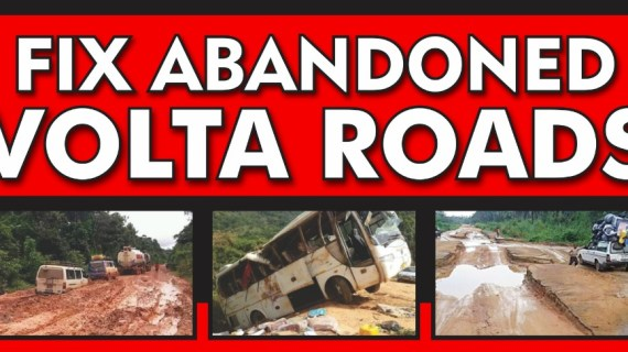 Voltarians to Demonstrate Against Abandoned Road Projects