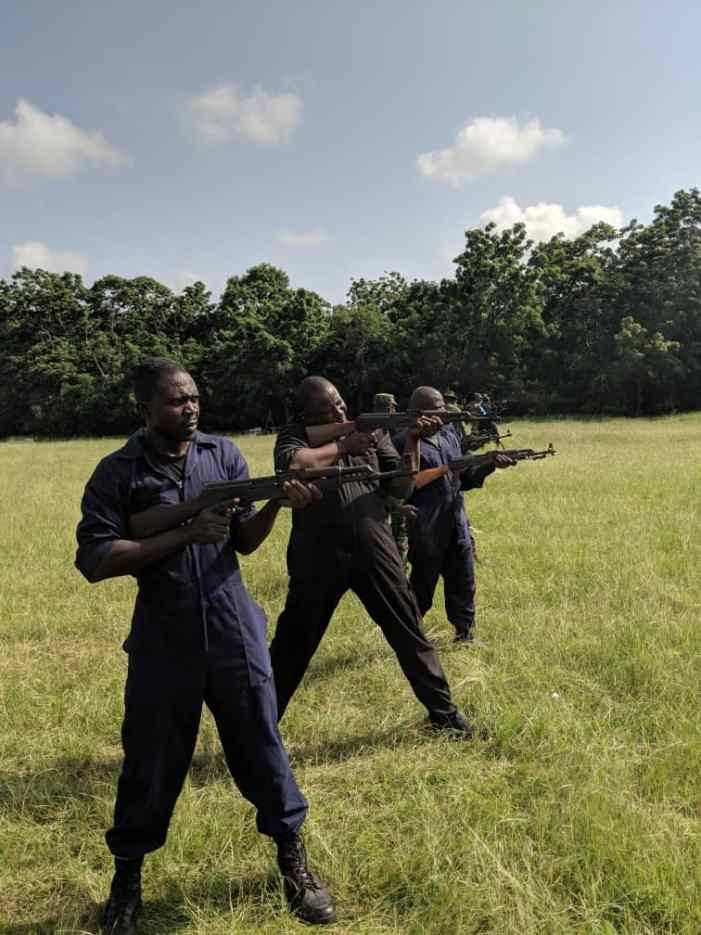 Photos: NPP Trains Invisible and Delta Forces For 2020 Elections