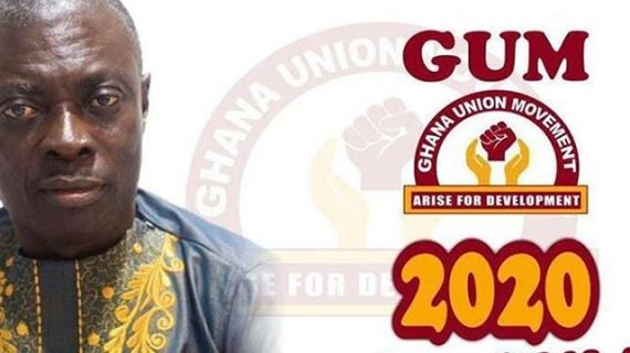 Akufo Addo has failed let's vote him out- GUM Flag bearer