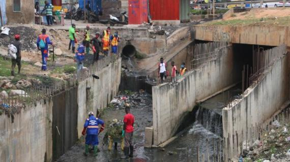 MSWR Steps Up Efforts To Rid Accra Drains Of Solid Wastes