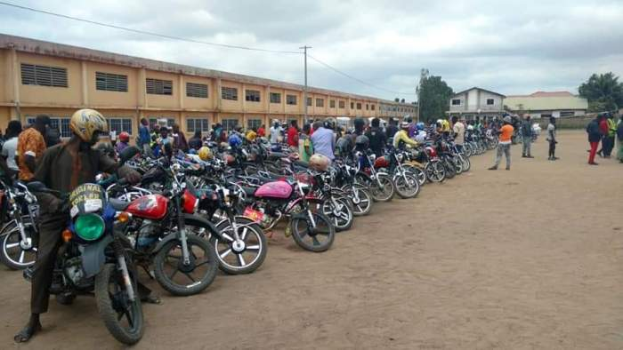 Okada riders threatened the Akuffo Addo govt