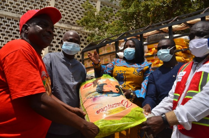 VRA Donates Food Items To The Flood Victims in in the Upper Region