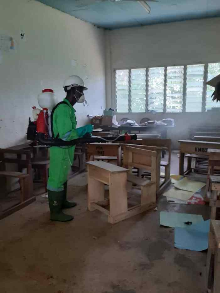 Schools In Oti Benefit From 3rd Disinfection Exercise