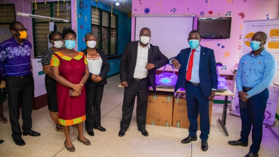 Latter-Day Saints Charities donate Firefly equipment to Cape Coast Teaching Hospital