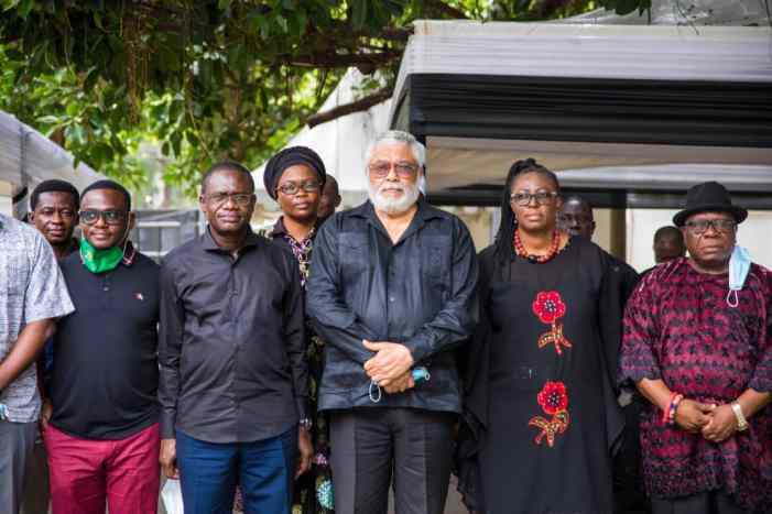 Dr Siaw Agyepong Mourns With Rawlings' Family