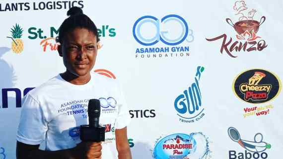 Asamoah Gyan Foundation Launches Tenis Talent Hunt