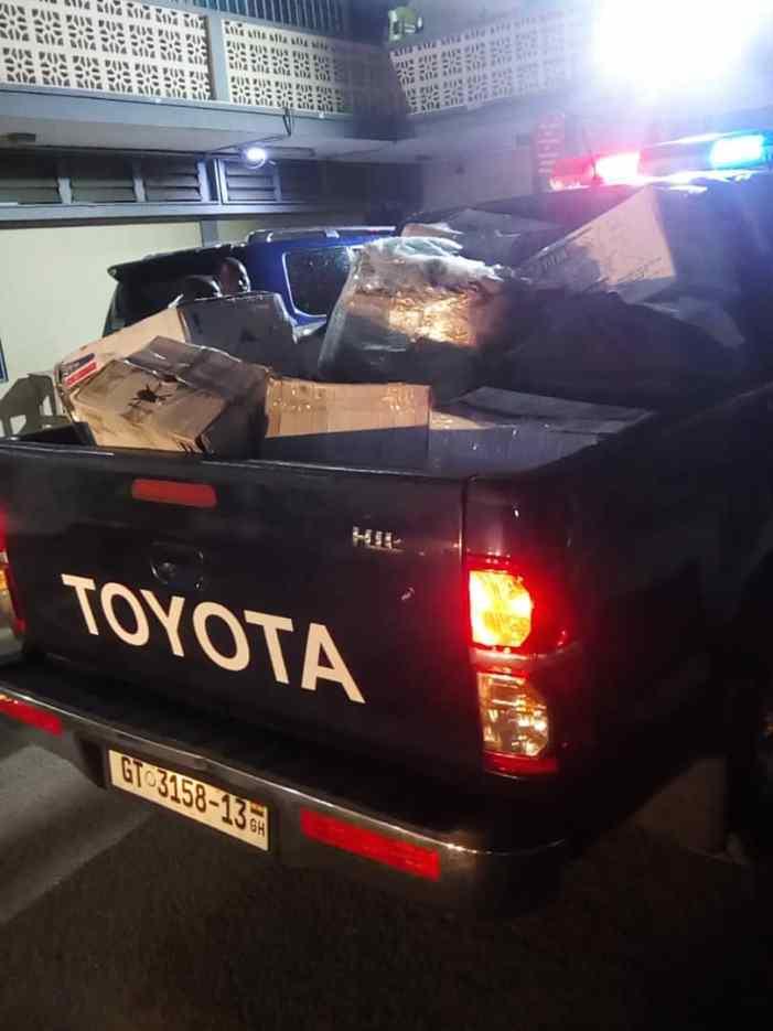 Security Alert: Customs Impound 436 Pistols At Tema Port