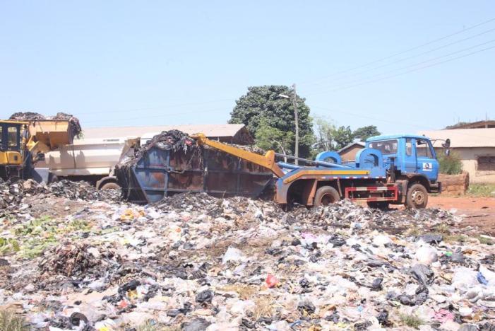 Gov't Evacuate Illegal Dumpsites In North East Region