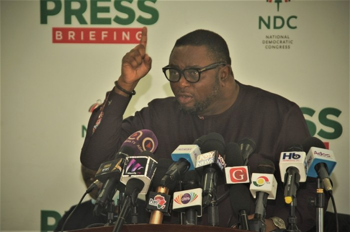 NDC On 2020 Election Preparations