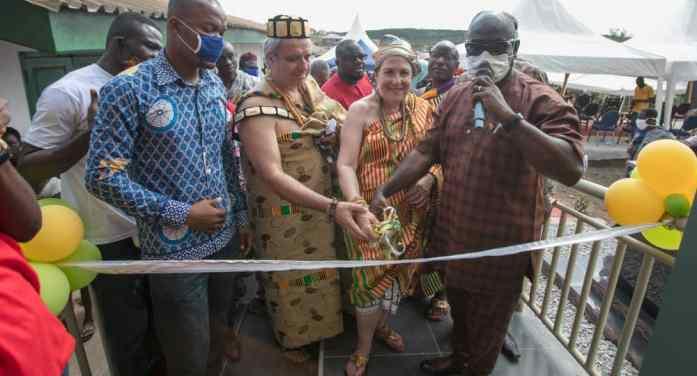 Yamoransa Community educational goals get a boost with HAF and FYF Support – Nana Akwa II