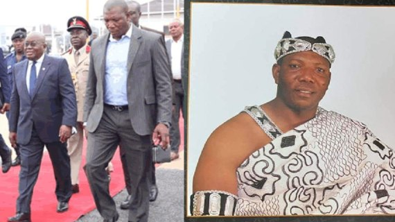 Akufo-Addo's Bodyguard Using Dirty ForceTo Grab Land At Alajo