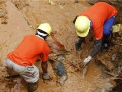 Two Galamsey Miners Trapped To Death