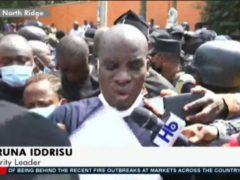Watch NDC MPs and police face-off as they are prevented from submitting petition to EC