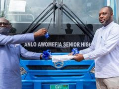 Ministry of Edudcation Hands Over 120 Buses To SHSs