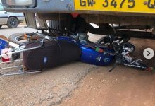 A Police Man Crushed To Death On Tema Motorway