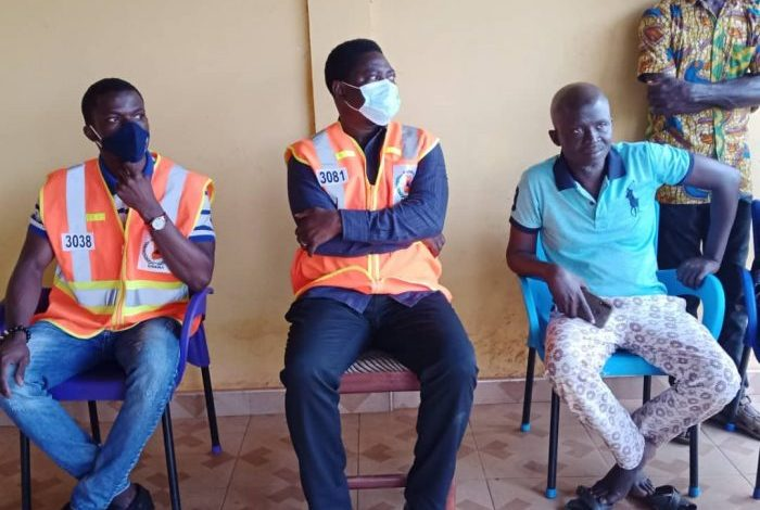 Ah/R: NADMO supports victims of fire outbreaks at Sankore Senior High School