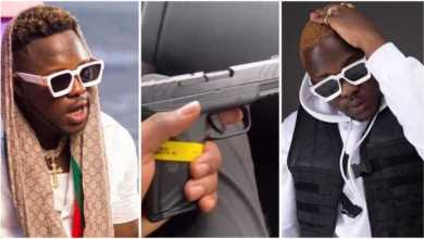 VIDEO: The Moment Medikal Allegedly Showed Off A New Gu.n On Social Media Resulting In His Arrest And Detention