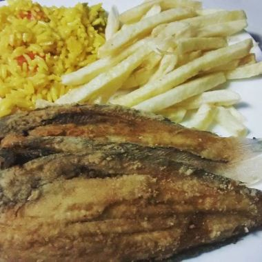 Fish and chips, the Moroccan style