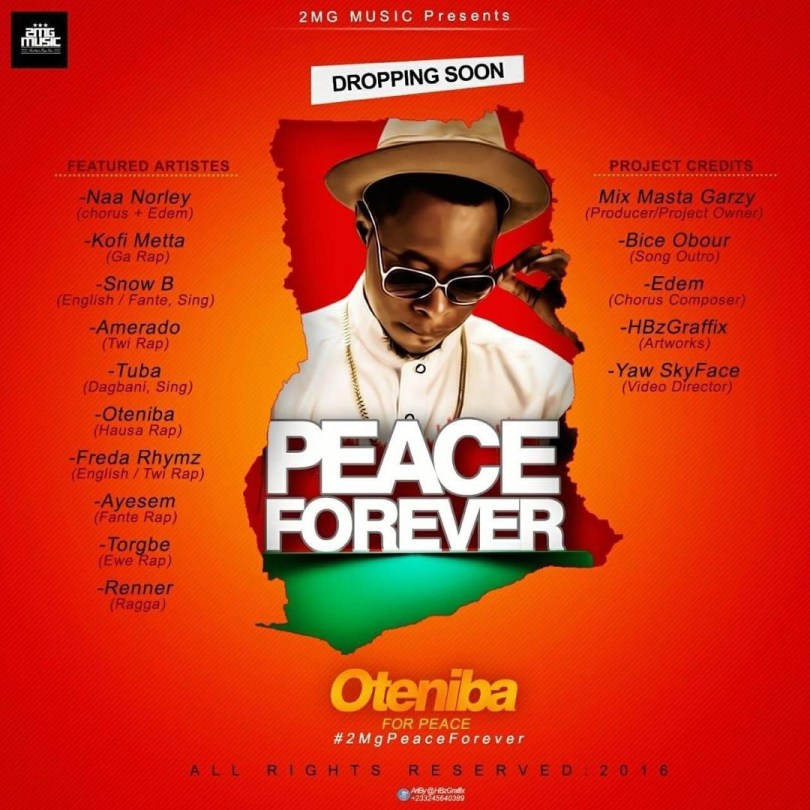DOWNLOAD MP3: Nuru Shabba - Oteniba For Peace ft All Stars