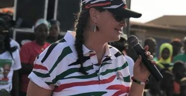 American Lady compaign for Mahama