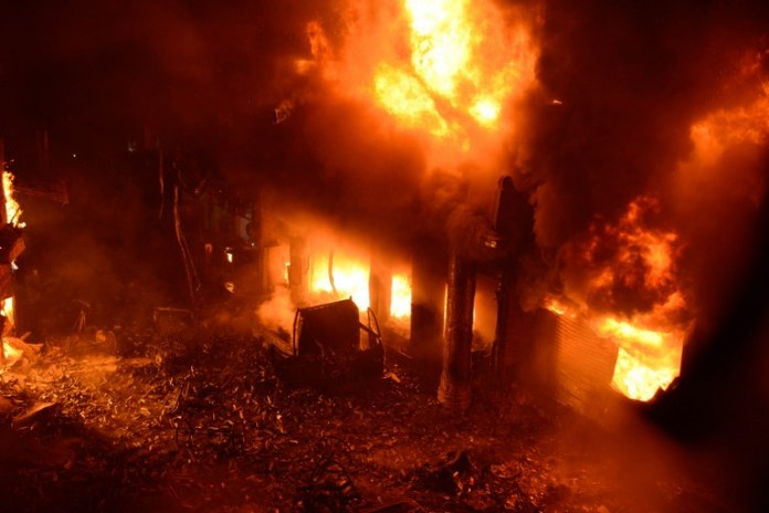 Breaking News: Kaneshie Market On Fire