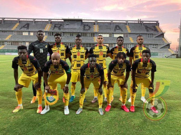 Ghana Black Stars 2020