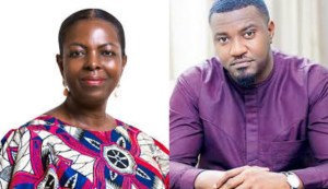 Lydia Alhassan claims victory over John Dumelo