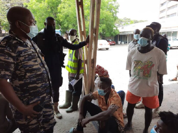 105 Persons Arrested For Not Wearing Nose Mask