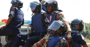 Police Stops A Robbery Attack At Esiama Ecobank