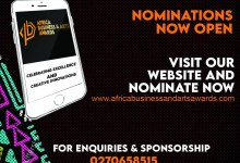 NOMINATIONS OPENED FOR AFRICA BUSINESS AND ARTS AWARDS 2021.