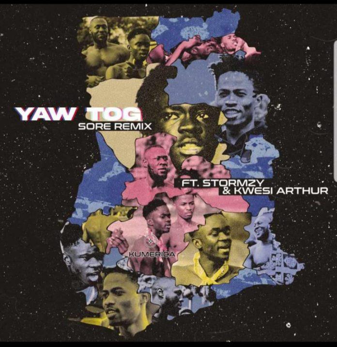 DOWNLOAD MP3: Yaw Tog – Sore Remix Ft. Stormzy & Kwesi Arthur