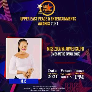 UPPER EAST PEACE & ENTERTAINMENT AWARDS 2021