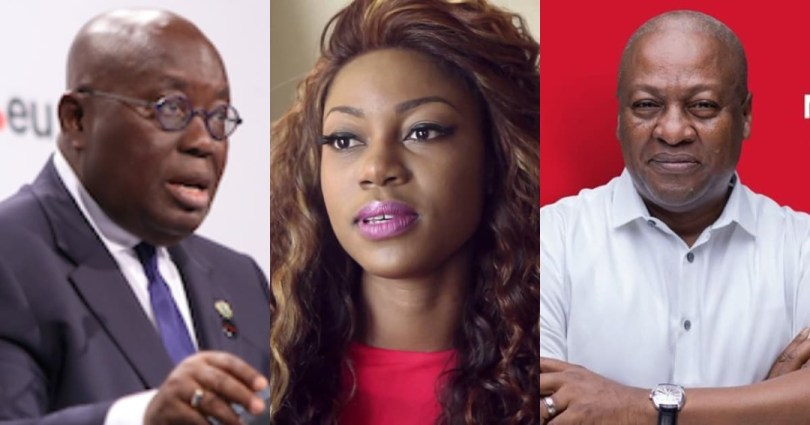 """Yvonne Nelson 'barks' at Akufo-Addo - Remember what you did to Mahama & fix Dumsor now"""""""