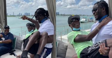 Jupitar Shares Of His Fun Time With Shatta Wale In Miami