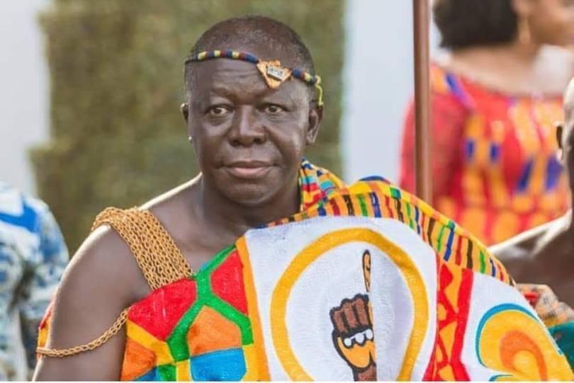 Galamsey Fight: Otumfour Exposes Jinapor, Regional Minister... The king of Ashanti, Asantehene, Otumfour Osei Tutu II, has disclosed that the